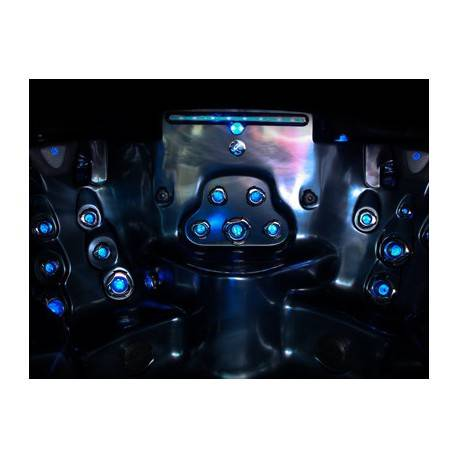 Xtreme LED w/GLO osvětlení trysek a oladacích prvků vířivky