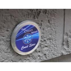 Čištění vířivky - tlačítko pro okamžité čištění