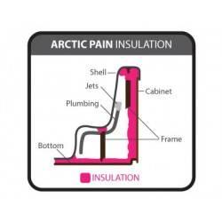 Arctic Pain izolace vířivky.